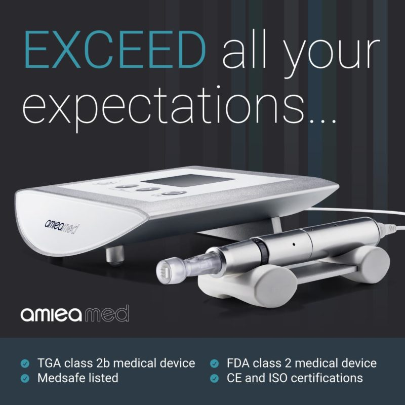 Amiea Med EXCEED Medical Microneedling Device