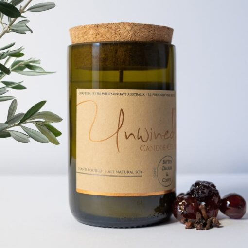 Unwined Candle - Bitter Cherry & Clove